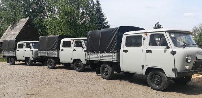 Новая лесопожарная техника поступила в Республику Алтай