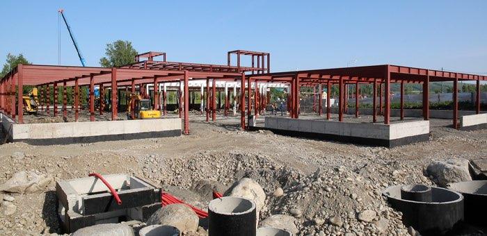 В Майминском районе продолжается строительство агропарка