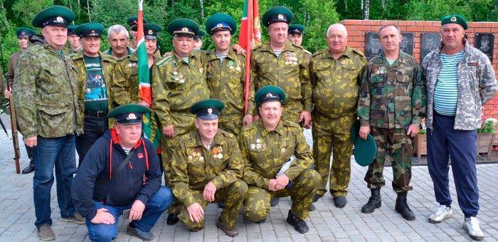 В Горно-Алтайске прошел «Боевой расчет» пограничников