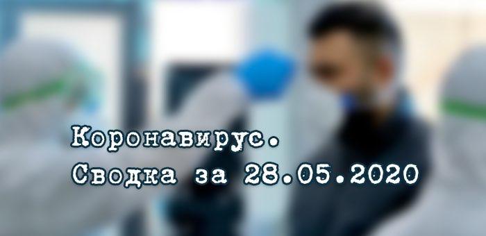 Ситуация с коронавирусом в Республике Алтай. Сводка за 28 мая