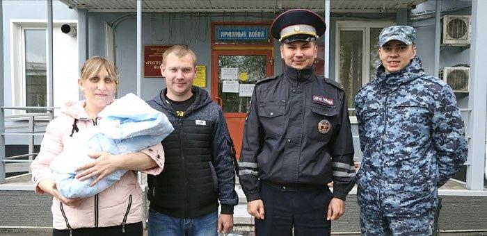 За 20 минут до родов: полицейские помогли вовремя доставить роженицу в Перинатальный центр