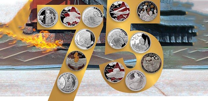 Новую коллекцию памятных монет к празднику Победы представили в Россельхозбанке