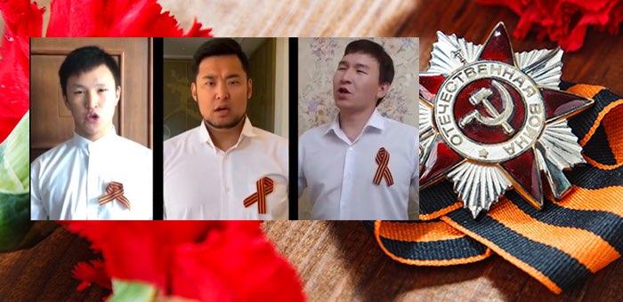 Легендарная песня «День Победы» на алтайском языке (видео)