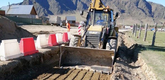 В Республике Алтай начался ремонт дорог по нацпроекту БКАД