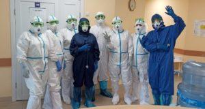 Как живут и работают врачи в «ковидном» госпитале в Горно-Алтайске: информация из первых рук