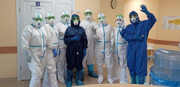 Как живут и работают врачи в «ковидном» госпитале: информация из первых рук