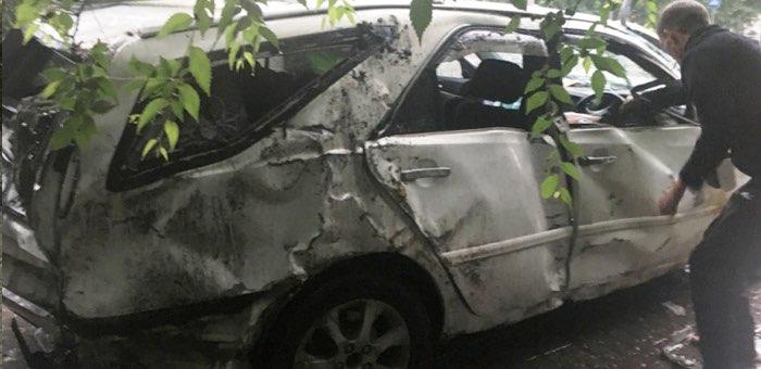 Арестован водитель, устроивший ДТП в районе Жилмассива