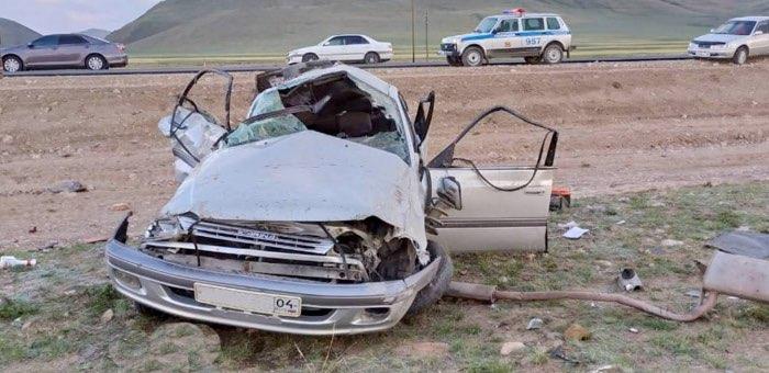 Два человека погибли в аварии в Кош-Агачском районе