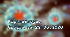 Ситуация с коронавирусом в Республике Алтай. Сводка за 22 июня