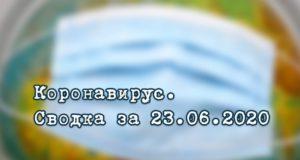 Ситуация с коронавирусом в Республике Алтай. Сводка за 23 июня