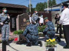 Мемориал в честь героев Великой Отечественной войны открыли в Горно-Алтайске