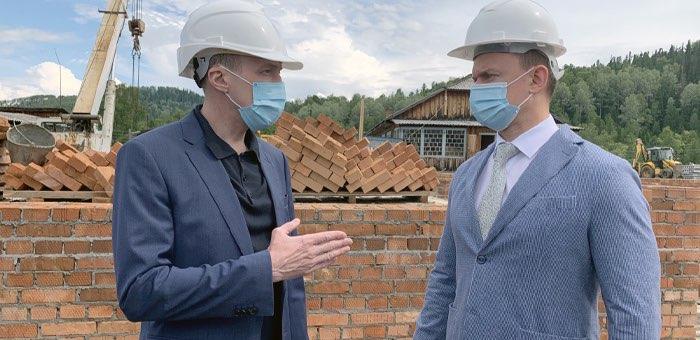 Олег Хорохордин поручил ускорить строительство детского сада в Бийке