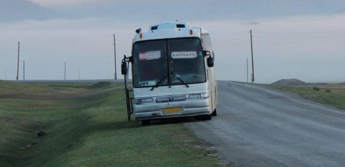 Житель Горно-Алтайска сообщил о минировании автобуса, в котором сам ехал