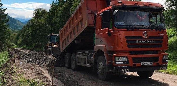 Ремонт дороги Шебалино – Каспа ведется в регионе
