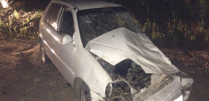 Нетрезвый житель Кызыл-Озека на «Хонде» едва не погубил пассажира