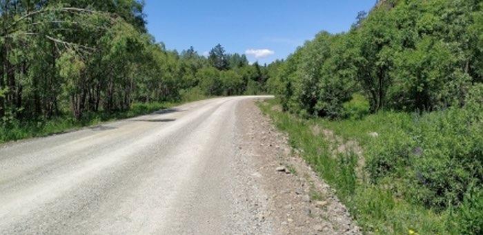 Ремонт двух дорог в Чойском и Майминском районах завершен раньше срока