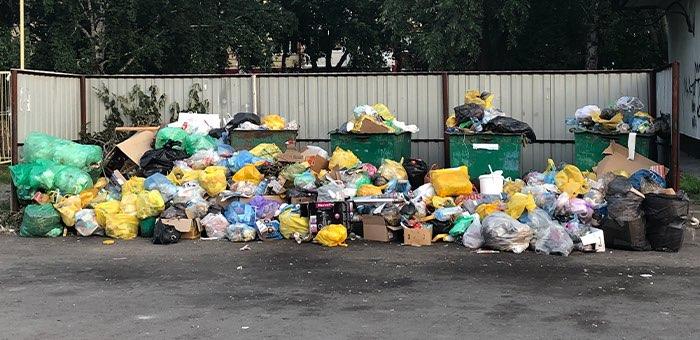 За плохую уборку мусора «Коммунальщик» оштрафовали уже в 14-й раз
