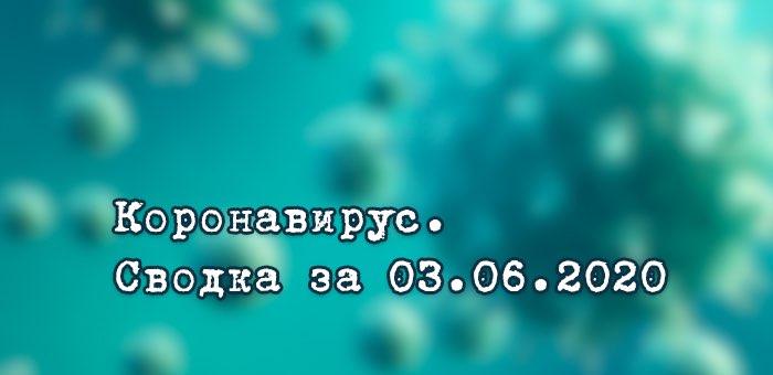 Ситуация с коронавирусом в Республике Алтай. Сводка за 3 июня