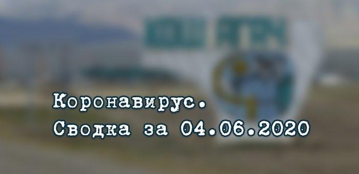 Ситуация с коронавирусом в Республике Алтай. Сводка за 4 июня