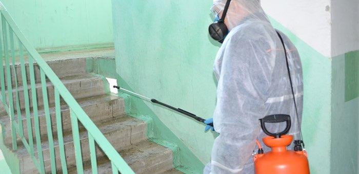 Управляющие компании оштрафованы за недостаточную дезинфекцию домов, где обнаружен коронавирус