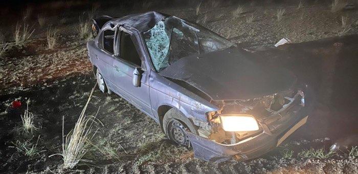 Женщина на Nissan Sunny насмерть разбилась на Чуйском тракте