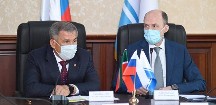 Президент Татарстана посетил Республику Алтай