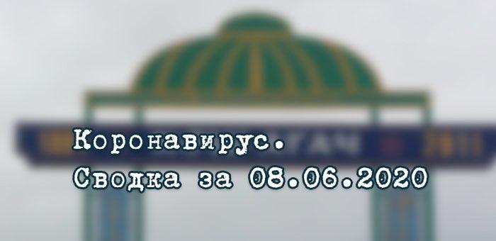 Ситуация с коронавирусом в Республике Алтай. Сводка за 8 июня