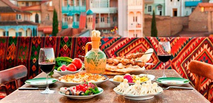 Лучшие национальные блюда и рестораны в Тбилиси