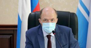 Олег Хорохордин потребовал усилить контроль за соблюдением масочного режима