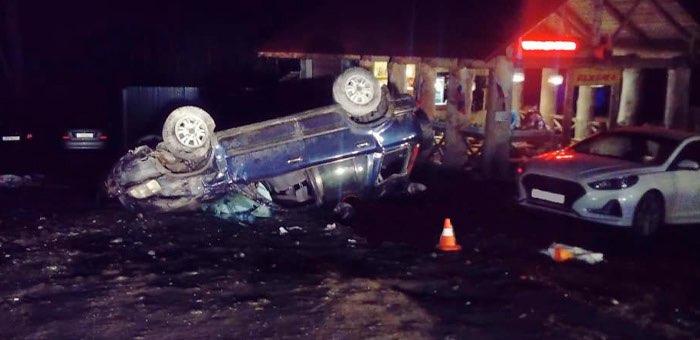 Девушка-водитель погибла в аварии на Чемальском тракте