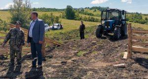 Хозяйства Чойского района развивают овощеводство