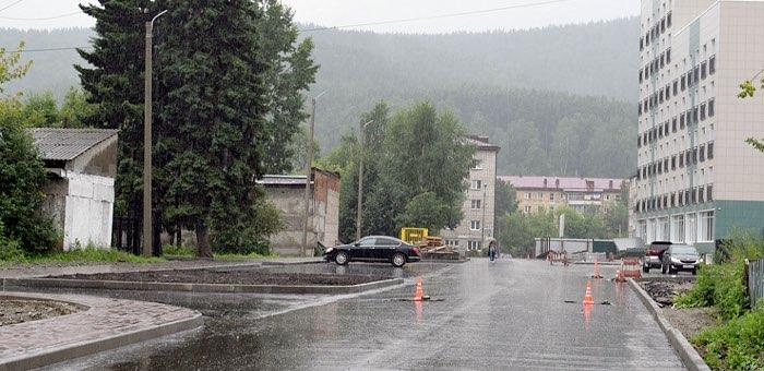 В Горно-Алтайске продолжается капитальный ремонт автомобильных дорог