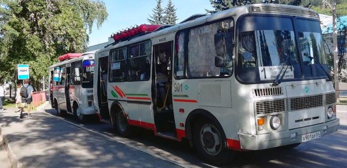 В Горно-Алтайске обновился график движения автобусов