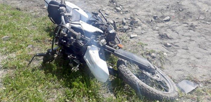 На Семинском перевале попал в аварию мотоциклист