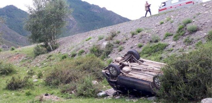 Очередной нетрезвый водитель без прав попал в аварию в Онгудайском районе
