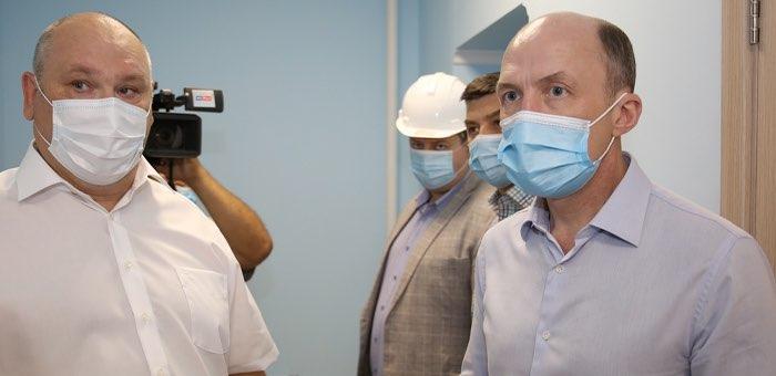 Глава республики посетил с рабочим визитом Усть-Коксу