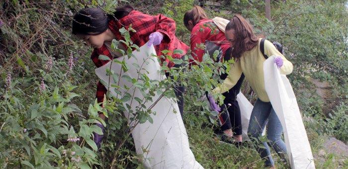 22 мешка мусора собрали активисты у реки Кокса в любимом месте отдыха сельчан