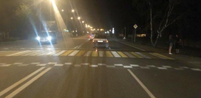 В Майме на пешеходном переходе сбили 11-летнего мальчика