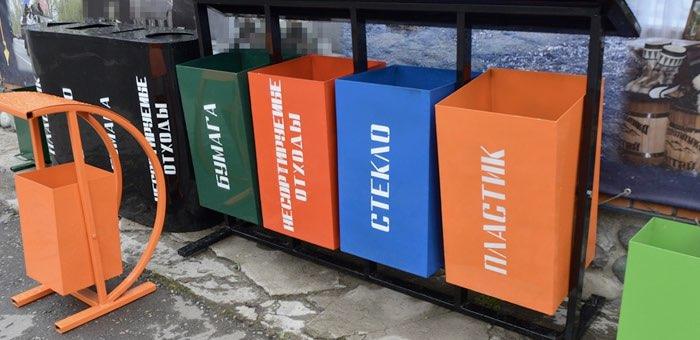 Контейнеры для раздельного сбора мусора начали производить заключенные