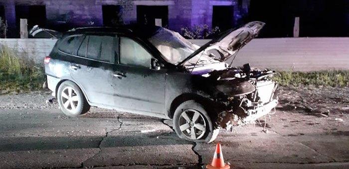 17-летний ученик автошколы, удирая от полиции, перевернулся на автомобиле родителей