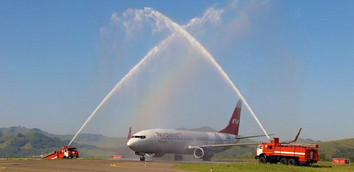 Началось выполнение авиарейсов между Санкт-Петербургом и Горно-Алтайском