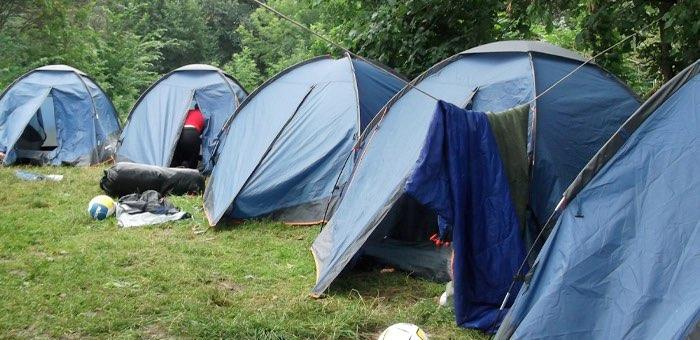 Нелегальный детский палаточный лагерь возле Барангола пришлось закрыть