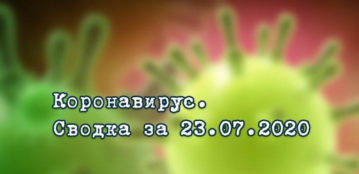 Ситуация с коронавирусом в Республике Алтай. Сводка за 23 июля