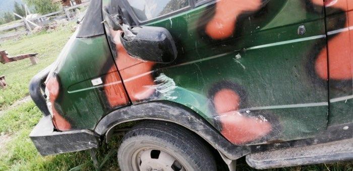 Туристка из Красноярска перевернулась на автомобиле «ГАЗель Фермер»