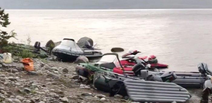 Житель Горно-Алтайска погиб, катаясь на гидроцикле по Телецкому озеру