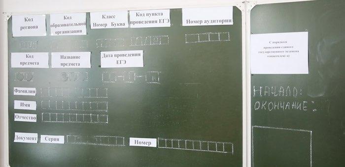 ЕГЭ по географии, литературе, информатике и ИКТ прошли в Республике Алтай