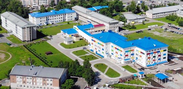 Завершается строительство новых корпусов детской больницы