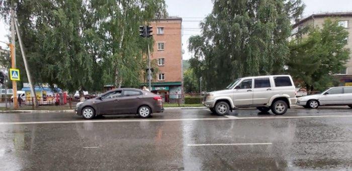 Девятилетняя девочка получила травмы в ДТП в Горно-Алтайске
