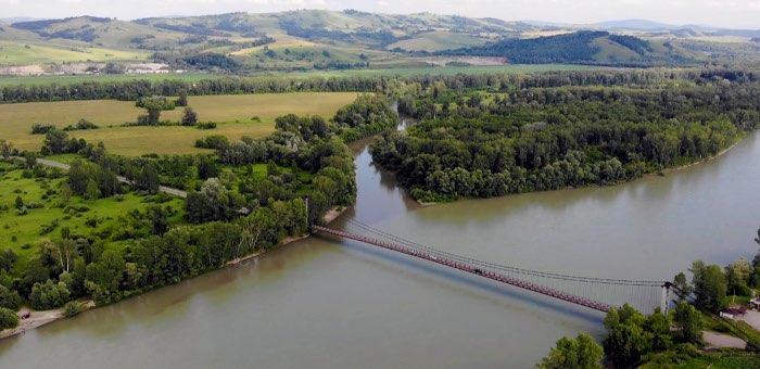 Начинается ремонт «платовского» моста через Катунь