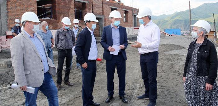 Глава республики посетил Шебалинский район